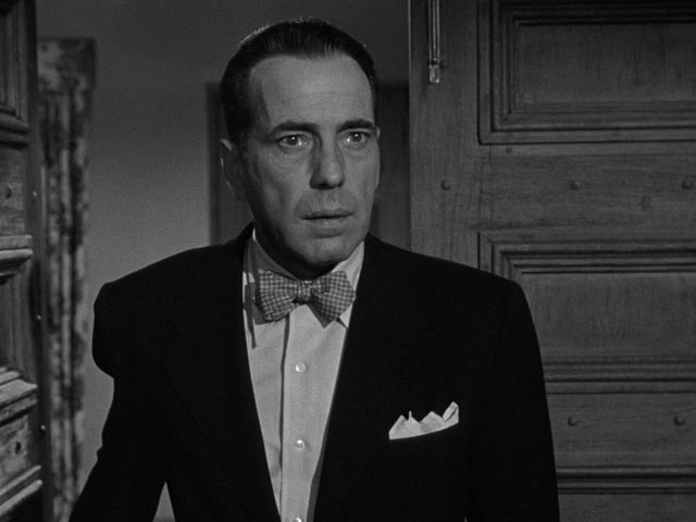 Dix realizes too late that his insecurity and fear have destroyed the thing he most wanted in Nicholas Ray's In a Lonely Place (1950)