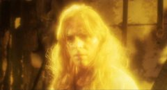 """Richard Lynch as the murderous """"god"""" in Larry Cohen's God Told Me To (1976)"""