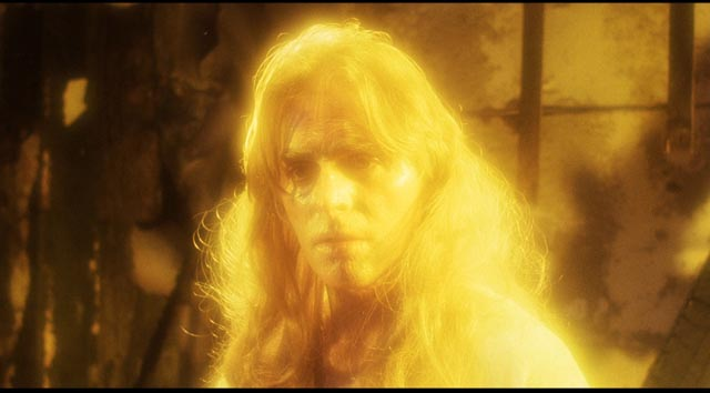 "Richard Lynch as the murderous ""god"" in Larry Cohen's God Told Me To (1976)"