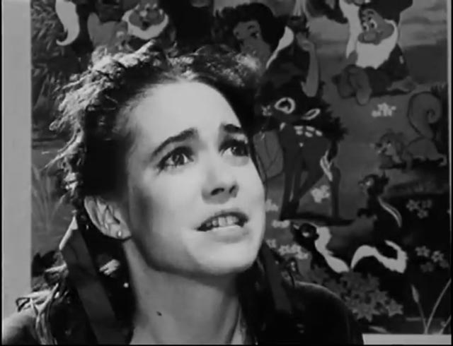 Katy Bolger as Holly, hopeful actress and romantic lead in Rufus Butler Seder's Screamplay (1985)