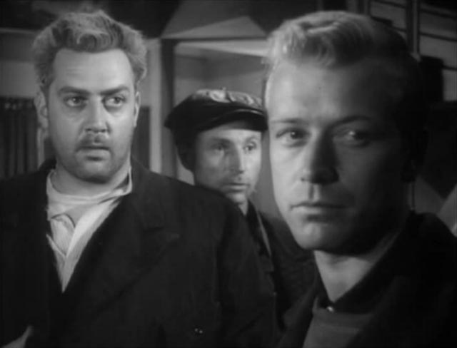 Raymond Burr as a sinister Minnesota innkeeper in William Cameron Menzies' The Whip Hand (1951)