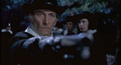 Peter Cushing as the sadistic witch hunter Gustav Weil in John Hough's Twins of Evil (1971)