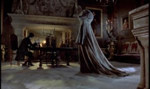 Atmospheric production design in John Hough's Twins of Evil (1971)
