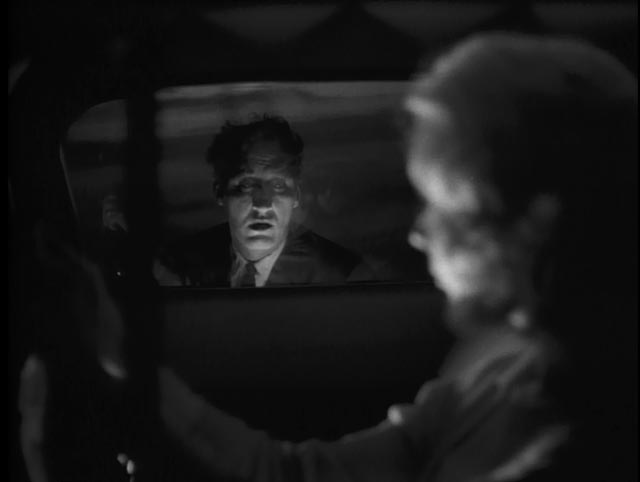 """Mary Henry (Candace Hilligos) haunted by """"the man"""" in Herk Harvey's Carnival of Souls (1962)"""