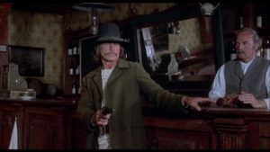 Chato (Charles Bronson) defends himself against racist townsfolk in Michael Winner's Chato's Land (1972)