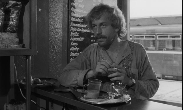 Life on the road: Rudiger Vogler as Bruno Winter in Wim Wenders' Kings of the Road (1976)