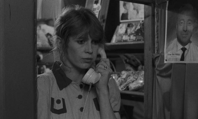 Lisa Kreuzer as the theatre cashier Pauline in Wim Wenders' Kings of the Road (1976)