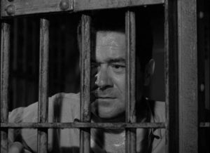 Frank Lovejoy as down on his luck vet Howard Tyler in Cy Endfield's Try and Get Me! (1950)