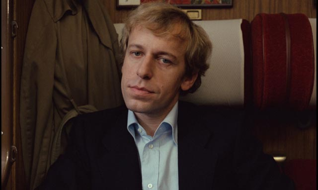 Rudiger Vogler as Wilhelm Meister, searching for answers in Win Wenders' Wrong Move (1975)