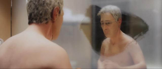 Michael Stone has difficulty connecting with himself in Charlie Kaufman and Duke Johnson's Anomalisa (2015)