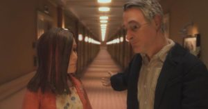 Michael invites Lisa back to his room for a nightcap in Charlie Kaufman and Duke Johnson's Anomalisa (2015)