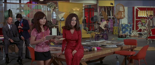 The horrors of 1970 decor in Russ Meyer's Beyond the Valley of the Dolls (1970)