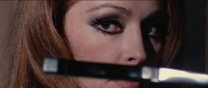 Nieves Navarro, aka Susan Scott, in Luciano Ercoli's Death Walks on High Heels (1971)
