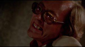 William Finley at his most deranged in Tobe Hooper's Eaten Alive (1976)