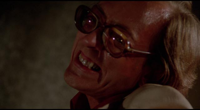 William Finley at his most deranged in Tobe Hooper's Eaten Alive (1976)