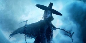 One of the Moon King's nasty daughters (Rooney Mara) in Travis Knight's Kubo and the Two Strings (2016)