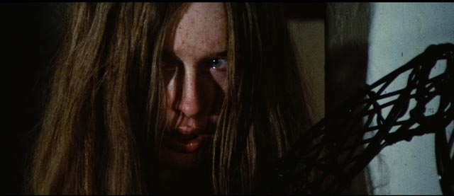 Camille Keaton as the traumatized title character in Massimo Dallamano's What Have You Done to Solange? (1972)