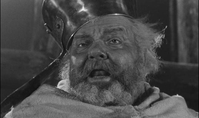 Orson Welles in his greatest role as Shakespeare's Falstaff, in his greatest film, Chimes at Midnight (1966)