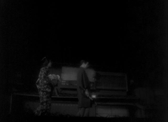 Otoku (Kakuko Mori) offers Kiku an honest critique of his shortcomings as an actor in Kenji Mizoguchi's The Story of the Last Chrysanthemum (1939)