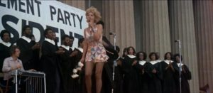 Barbara Harris lives the dream, singing before a traumatized crowd in Robert Altman's Nashville (1975)