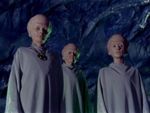 The best aliens from season one of Star Trek: The Original Series: the zookeepers in The Menagerie