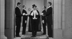 Pierre Etaix as the bored aristocrat who runs away to the circus in Yoyo (1965)