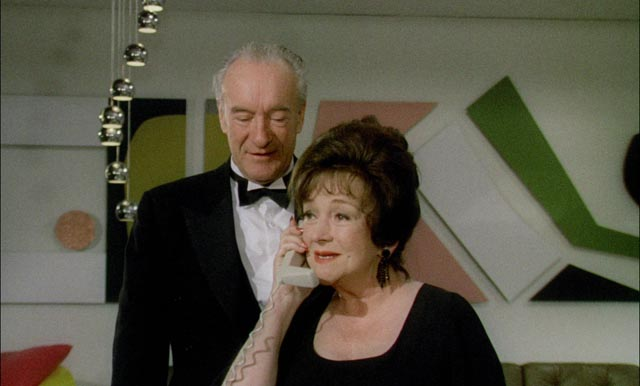 George Sanders and Beryl Reid slumming in low-budget heaven in Don Sharp's Psychomania (1973)