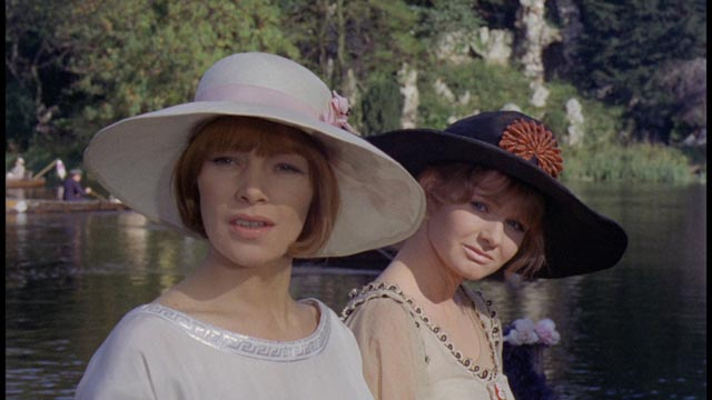 Gudrun and Ursula seek independence in a damaged social landscape in Ken Russell's Women in Love (1969)