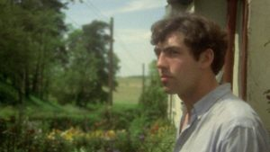Garrow Shand as the younger Tom Rouse, contemplating leaving the village in Peter Hall's film of Ronald Blythe's Akenfield (1974)