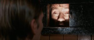 Roddy's one fear: in darkness, unable to see, he will cease to exist in Bertrand Tavernier's Death Watch (1980)