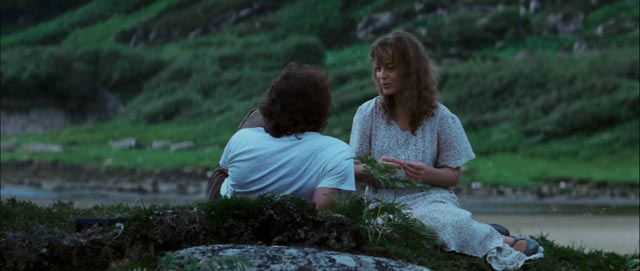 Near the end of the journey, a moment of peace in Bertrand Tavernier's Death Watch (1980)