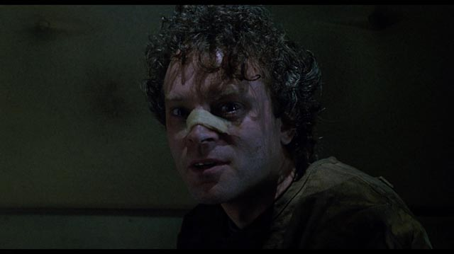 Brad Dourif as the Gemini Killer in William Peter Blatty's The Exorcist III (1990)