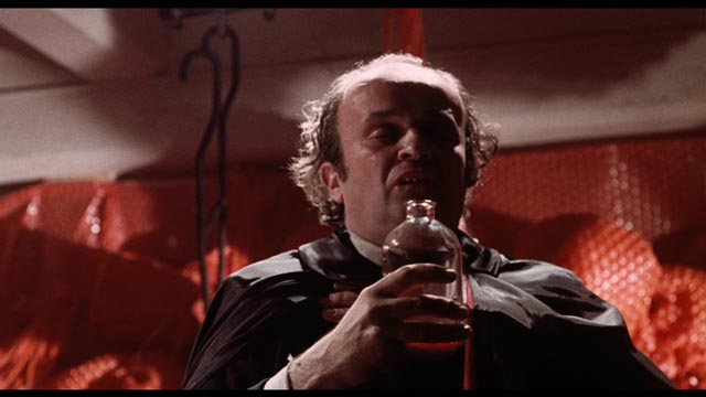Jerome Dempsey as Mr. Blood, our guide to Malatesta's Carnival of Blood