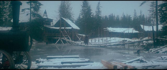 Death comes to Presbyterian Church under a shroud of snow in Robert Altman's McCabe & Mrs Miller (1971)