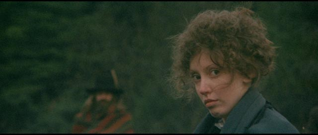 Shelley Duvall, one of Altman's stock company, as a shy young mail-order bride in Robert Altman's McCabe & Mrs Miller (1971)