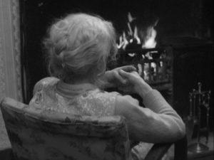 Jamie's implacable grandmother (Helena Gloag) in Bill Douglas' My Ain Folk (1973)