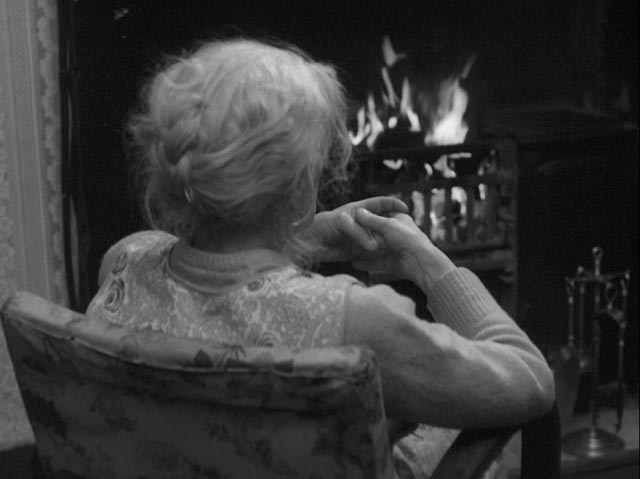 Jamie's implacable grandmother (Helena Gloag) in Bill Douglas' My Ain Folk (1973)