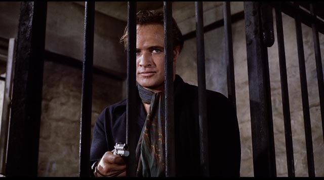 Rio turns the tables on his captors in Marlon Brando's One-Eyed Jacks (1961)