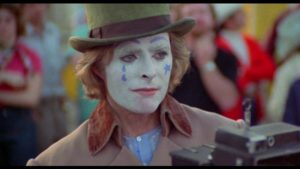 Richard Lynch as an unstable yet sympathetic carny in Robert Allen Schnitzer's The Premonition (1976)