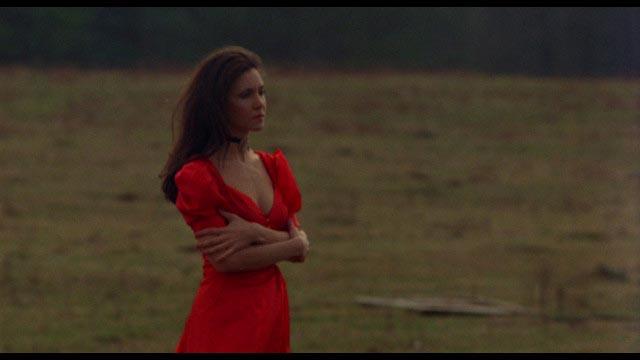 Ellen Barber as Andrea Fletcher, troubled by maternal instincts in Robert Allen Schnitzer's The Premonition (1976)