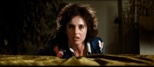 Molly (Millie Perkins) is gradually losing her grip on reality in Matt Cimber's The Witch Who Came From the Sea (1976)
