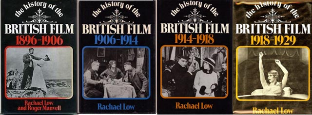 Rachael Low's seminal four-volume history of the four decades of British film