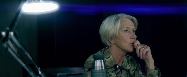 Helen Mirren as Colonel Katherine Powell in Gavin Hood's Eye in the Sky (2015)