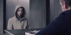 Anya Taylor-Joy as the bioengineering experiment in Luke Scott's Morgan (2016)