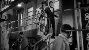 Backstage at the Soho strip club where Sammy works in Ken Hughes' The Small World of Sammy Lee (1963)