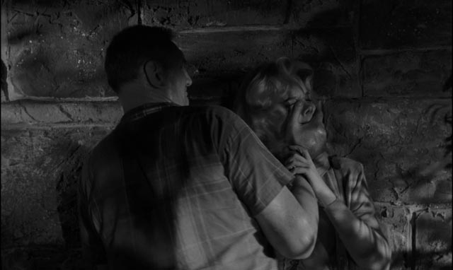 The brutal assault in Jack Garfein's Something Wild (1961)