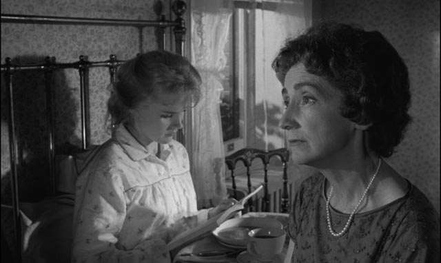 Mary Ann is unable to tell her mother (Mildred Dunnock) what happened in Jack Garfein's Something Wild (1961)