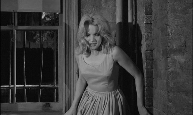 Trapped and vulnerable in Mike's basement room in Jack Garfein's Something Wild (1961)