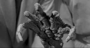The fossil claw, in your eye, in Jack Arnold's Creature From the Black Lagoon 3D (1954)