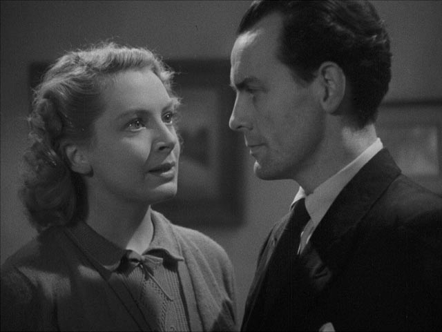 Economic stresses put a strain on love in John Baxter's Love on the Dole (1941): Deborah Kerr and Clifford Evans